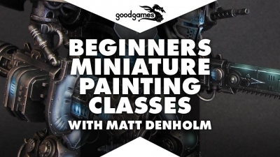 Good Games - Miniature Painting Banner