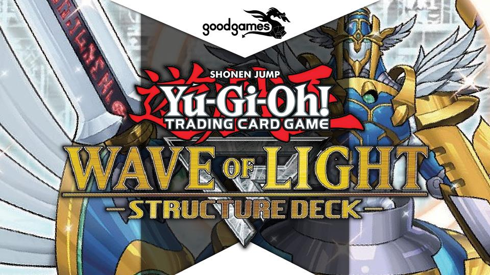 Good Games - Yu Gi Oh Wave of Light Banner