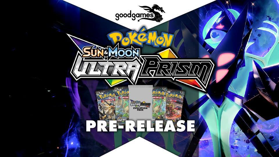 Pokemon Ultra-Prism Pre-release Banner